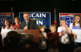 The GOP party goes underway at the Denver Marriot in Littleton, CO, as Obama leads the national...
