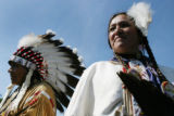Washington, Sept. 21, 2004 -  Kimimi La, also known as CJ Brafford, of the Lakota Ogalala Sioux...