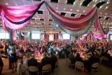 (Denver, Colo., March 1, 2008) Decor by Bouquets.  Saturday Night Alive at the Denver Center for...