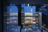(NYT16) NEW YORK -- Nov. 14, 2004 -- MOMA-ARCHITECTURE-REVIEW-2 -- The main gallery addition to...