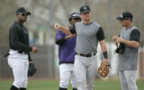 5480 The line for the job at second base is long, four of the Colorado Rockies candidates are from...