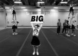 Three Cheers for Megan- Megan and her fellow cheerleaders practice their routine one last time...