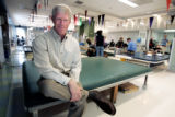 Dennis J. O'Malley, Craig Hospital president, sits in the therapy gym at Craig Hospital Monday...