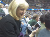 Aspen resident Nancy DiBiaggio clutches a Blackberry in her hand, having made at least 3 text...