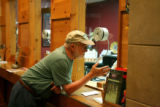 Dr. Dennis Wentz (cq) buys tickets at the box office the Vilar Center for the  Arts, July 17,...