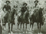 1. Billy Spencer, Ikua Purdy, Archie Kaaua during the Cheyenne Wyoming Frontier Days in 1908 . ...