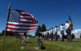 (BOULDER,  COLO., May 30, 2004) Members of the American Legion, Post 32 of Longmont, take part in...