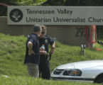 J. MILES CARY/NEWS SENTINEL - SUNDAY - 072708 - A shooting church services at the Tennessee Valley...