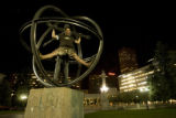 938  Eli Menendez of Denver climbs atop the Christopher Columbus Statue in Civic Center Park so...