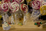 "Terry Forman of Nederland, Colo. is known as the ""Confectionary"" at Blumens, a flower..."