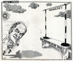 Lurie cartoon from 1972 by United Feature Syndicate Inc., of George McGovern