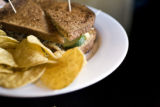 A veggie melt with tortilla chips at Paris on the Platte, when Eat! Drink! Shop! visits a location...