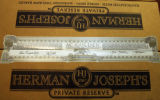 A finished case of AC Golden Brewing's fourth batch of Herman Joseph's Private Reserve Friday...