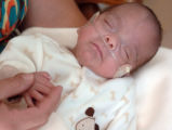 Ricardo Morales-Coronado weighed only 1 pound, 3 oz when he was born June 23 at St. Francis...