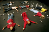 12/22/2004 DENVER, COLORADO-Children participating in the Denver Center For Performing Arts...