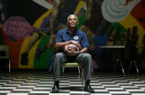 Former Broncos quarterback Marlin Briscoe is photographed at the Eastman-Fairfield Boys &...