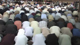 Colorado Muslims marked the  end of Ramadan with communal prayers at Red Lion Hotel  3200 S Parker...