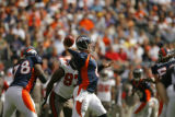 Denver Broncos YYY Tampa Bay Buccaneers WWW in the first quarter on Sunday  afternoon, Oct. 5,...
