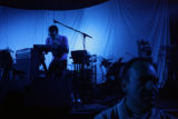 Graham Wright (cq) of Tokyo Police Club plays keyboard at the Broomfield Event Center, 11450...