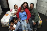 (DENVER, Colo., January 4, 2005)  Gabriel Guttierez and his family, wife Dolores Adame, and four...