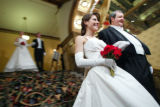 Debutante ball at the Brown Palace in Denver, Colo., on Sunday, December 22, 2004.  Allie O'Neal...