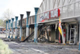 Aftermath of the fire at Holly Square Shopping Center in NE Denver. (RockyMountainNews/George...
