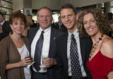 (Denver, Colorado, May 3, 2008) Diana Woods, Ed Wargin, Mike Best, and Susie Wargin (emcee,...