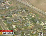 "RMN016_WINDSOR_TORNADO A large tornado wreaked ""total destruction"" in the northern..."