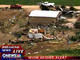 "EJ1274 A large tornado wreaked ""total destruction"" in the northern Colorado town of..."