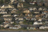 JOE408 Aerial view on Friday morning, May 23, 2008 of parts of Windsor, Colo., that was hit by a...