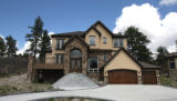 Home at 4916 Silver Pine Drive in Castle Rock Thursday may 15,2008. Million dollar homes...