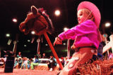 Let's cover the Stick Horse Rodeo at 5pm in the Stadium Arena for sure. Cover anything else at...