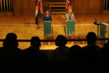 DM1562  MUSGRAVE_MARKEY_DEBATE+ 55080 Republican Marilyn Musgrave and Democrat Betsy Markey face...