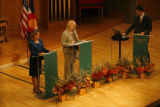DM1567  MUSGRAVE_MARKEY_DEBATE+ 55080 Republican Marilyn Musgrave and Democrat Betsy Markey face...