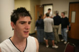 #1  Nate Tomlinson (cq) at the Coors Event Center in Boulder, Thursday, October 9, 2008.   October...