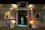 The front of The Asylum Haunted House at Boondocks Fun Center in Northglenn on October 16, 2008. ...