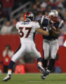 (CS369) Calvin Lowry Misses  tackle on Sammy Morris in the first quarter of the Denver Broncos...