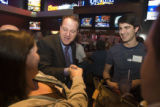 (004) Jared Polis at an event organized by the Broomfield County Democrats on the eve of Election...