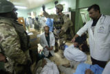 NYT5 - (NYT5) FALLUJAH -- Nov. 7, 2004 -- IRAQ-HOSPITAL-2 -- A U.S. special forces soldier,...