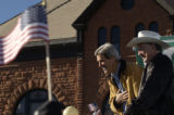 (10/23/2004) Denver, Colorado- Presidential candidate John Kerry, with Attorney General and Senate...