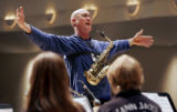 (DENVER, Colo., April 14, 2005) Jazz musician and Metro State College jazz combo and sax teacher,...