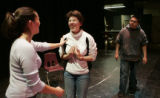 At West HS, students  rehearse Shakespeare but with a twist.  They are performing in Russian for...