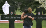 (Centennial, Colo., April 14, 2005) Two unidentified mourners (who refused to be identified)...