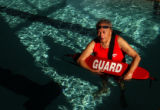 Wheat Ridge, Colo., photo taken January 12, 2004-Haywood Stewart,88, is world's oldest lifeguard,...