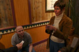 Denver, Colo., photo taken April 26, 2005- Karen Bauer (cq right), 38, of Denver, one of three...