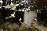 Two hundred and six white doves were released after the Colorado law Enforcement Memorial ...