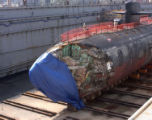 FILE (NYT29) APRA HARBOR, Guam -- May 17, 2005 -- SUBMARINE-CRASH-2 -- A U.S. Navy photo of the...