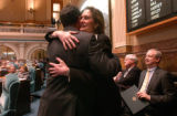 (DENVER, Colo., May 4, 2005) Speaker of the House of Representatives,  Andrew Romanoff (cq),...