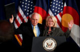 (DENVER, Colo., May 9, 2005) The Vice President of the United States, Dick Cheney, and U.S....