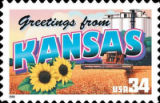 Kansas stamp for NASCAR channel